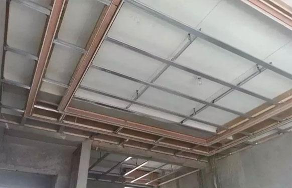 轻钢龙骨石膏板安装