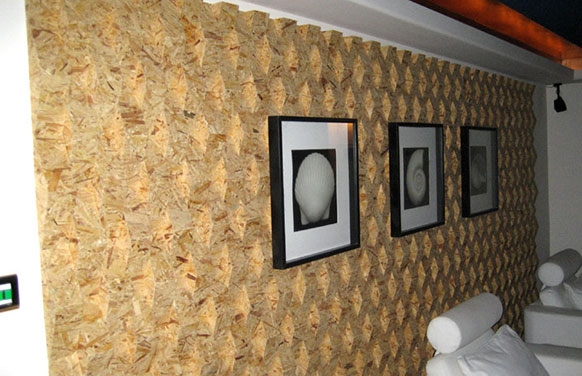 欧松板内墙装饰